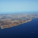 Widok na całą wyspę...