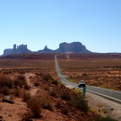 Droga 163, w stronę do Monument Valley