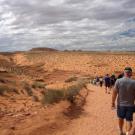 Droga do Dolnego Kanionu Antylopy